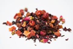 чай ягод травяной стоковая фотография