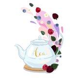 Чай ягоды стоковое изображение