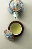 чай японского типа пролома Стоковая Фотография