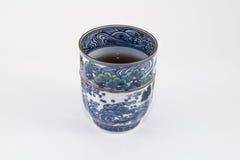 чай японца чашки стоковая фотография