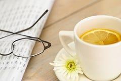 чай дела пролома Стоковые Фото
