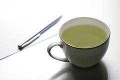 чай 001 чашки Стоковые Фото
