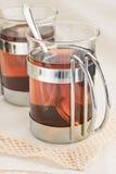 чай 2 чашки Стоковая Фотография RF
