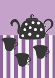 чай иллюстрация штока