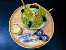 Чай Bingsu зеленый Стоковое Изображение RF