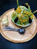 Чай Bingsu зеленый Стоковые Изображения RF