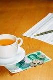 чай bussiness Стоковое Фото
