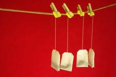 чай clothespins стоковые фото