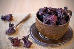 чай hibiscus стоковые изображения rf