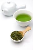 Чай Jananese зеленый Стоковое Фото