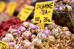 Чай Jasmin Стоковое Изображение