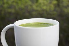 Чай Matcha зеленый Стоковое фото RF