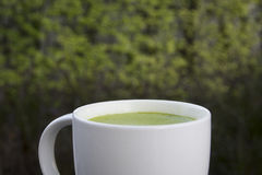 Чай Matcha зеленый Стоковые Фото