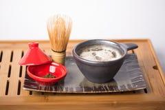 Чай Matcha японца Стоковое фото RF