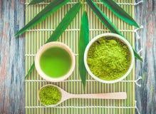 Чай Matcha Стоковые Изображения RF