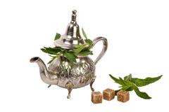 чай moroccan мяты Стоковая Фотография RF