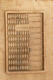 чалькулятор абакуса старый Стоковые Фотографии RF