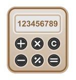 Чалькулятор Брайна. Стоковые Фотографии RF