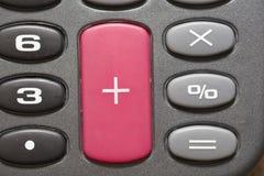 чалькулятор кнопки Стоковое Изображение RF