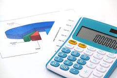 Чалькулятор Стоковые Изображения RF