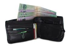 чанадеца несенный бумажник вне Стоковое Изображение