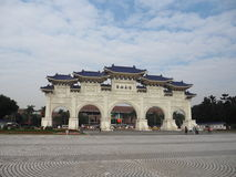 Чан Кайши мемориальный Hall в Тайбэе Стоковые Фото