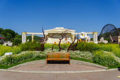 Чарс на парке сада Стоковая Фотография