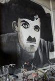 Чарли Чаплин Стоковое Изображение RF