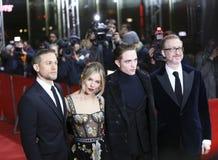 Чарли Hunnam, cиенна Miller, Роберт Pattinson, серый цвет Джеймс Стоковые Фото