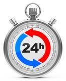 24 часа Стоковое Фото