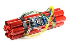 Часовая бомба Стоковое Изображение RF