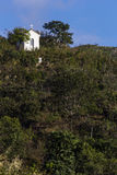 Часовня в горах положения Gerais мин - Бразилии Стоковые Фотографии RF