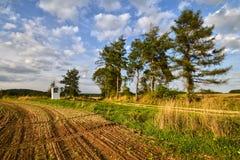 Часовня в полях Стоковое Изображение RF