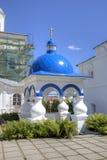 Часовня в святом монастыре Bogolyubovo стоковое изображение rf