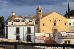 Часовня в Eivissa стоковые фотографии rf