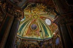 Часовня дворца Queluz национального стоковые изображения rf