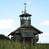 Часовня Иоанна Крестителя в Zekhnovo Kenozero Стоковое фото RF
