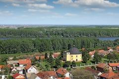 Часовня мира Sremski Karlovci Сербии стоковое фото rf