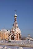 Часовня республики России Мордовии в Саранске стоковое изображение rf