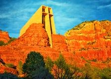 Часовня святого креста Стоковые Фотографии RF