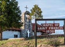 Часовня Св.а Франциск Св. Франциск стоковые фото