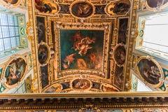 Часовня троицы, замок Фонтенбло стоковое фото rf