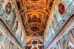 Часовня троицы, замок Фонтенбло стоковые фотографии rf