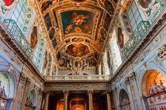 Часовня троицы, замок Фонтенбло стоковые фото