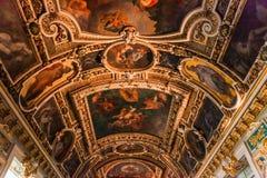 Часовня троицы, замок Фонтенбло стоковая фотография rf