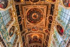 Часовня троицы, замок Фонтенбло стоковые изображения rf