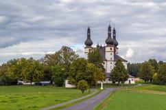Часовня троицы (Dreifaltigkeitskirche Kappl), Waldsassen, стоковые изображения rf