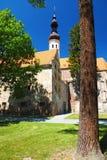 Часовня, южная Моравия, чехия Стоковое фото RF