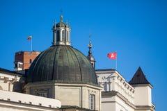 Часовня Casimir Святого в Вильнюсе Стоковые Изображения RF