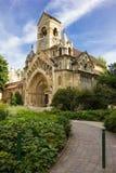 Часовня Jak замка Vajdahunyad в Будапеште, Венгрии Стоковое Изображение RF